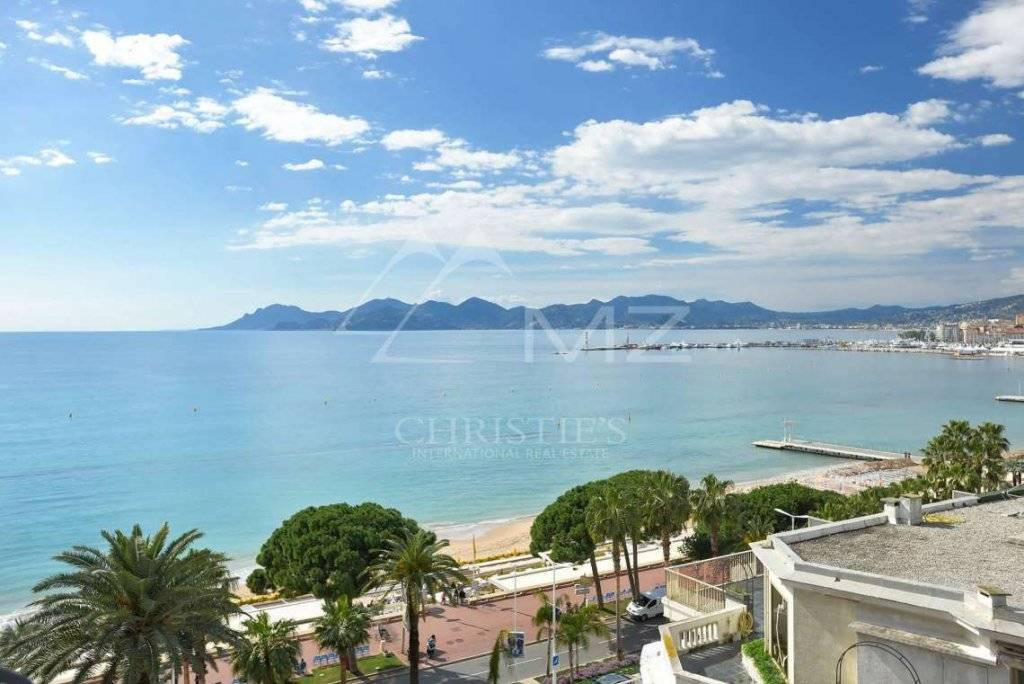 Sea View Apartment For Sale in Cannes France