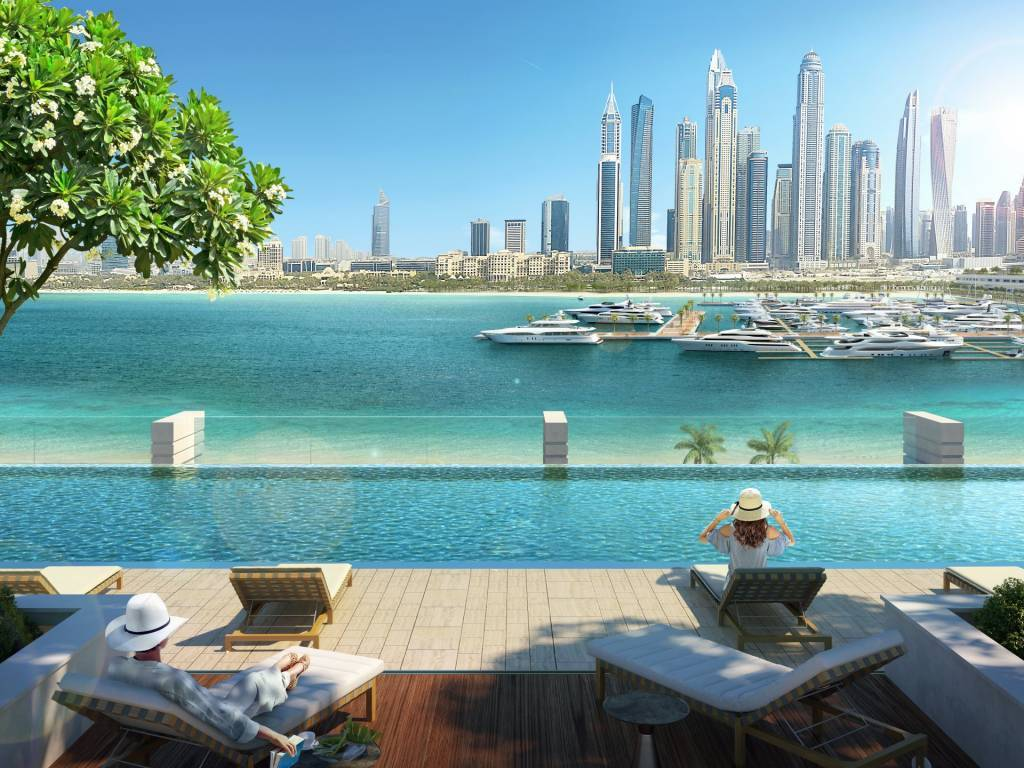 Luxurious 4 Bedroom Penthouse in Emaar Beach Front | Private Beach Access