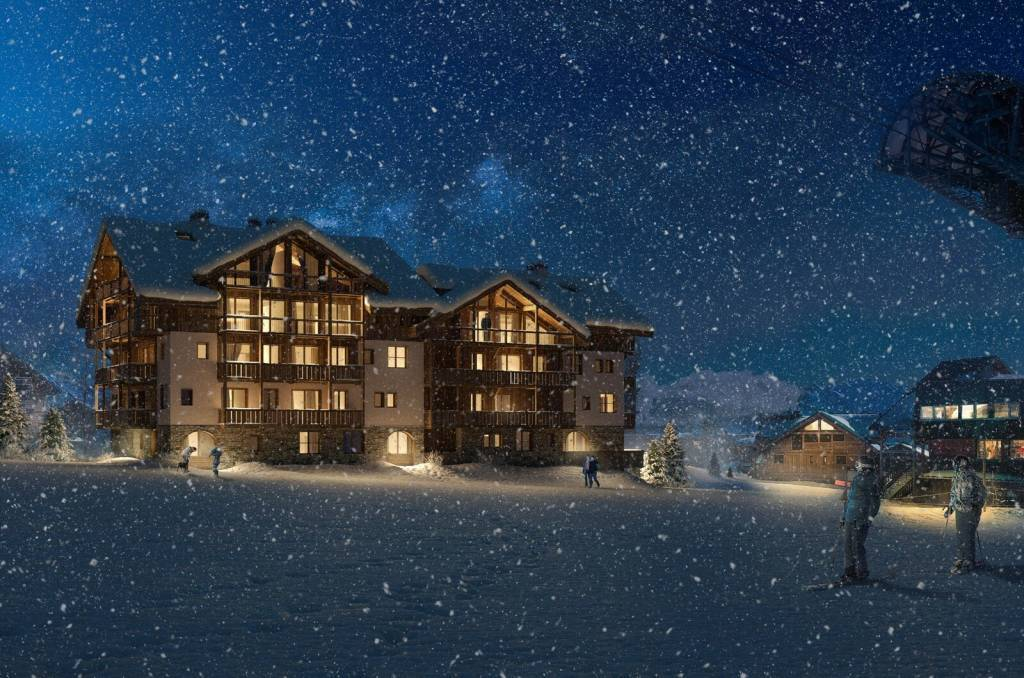 INCREDIBLE 1 BEDROOM APARTMENT PROGRAMME NEUF LAC BLANC