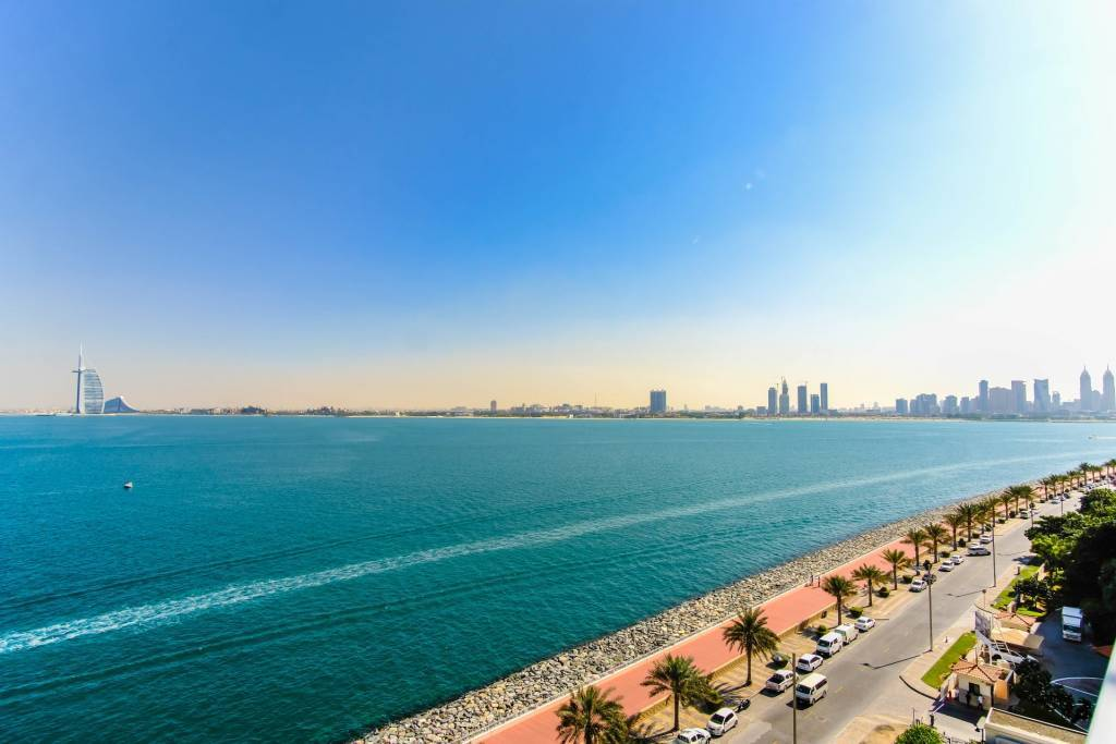 Spacious and Bright2 BR Apartment with Prime Palm View