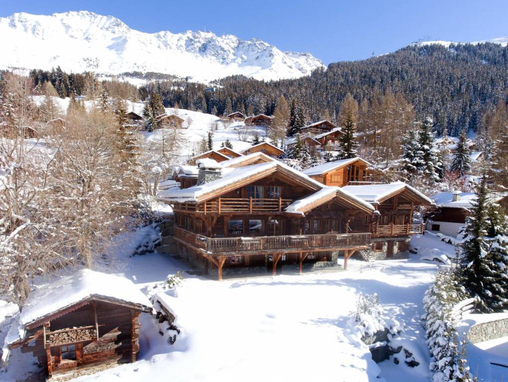 Sublime property right next to Verbier's ski slopes