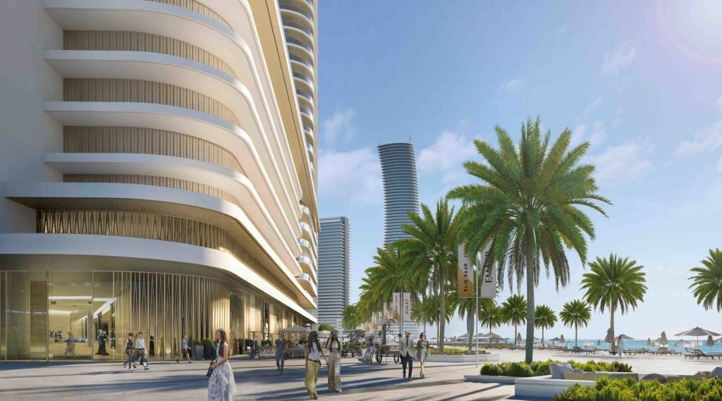 Luxury Apartments in Emaar Beach Front | Bitcoin Accepted