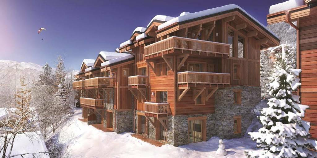 3 BEDROOMS APARTMENT IN THE HEART OF COURCHEVEL