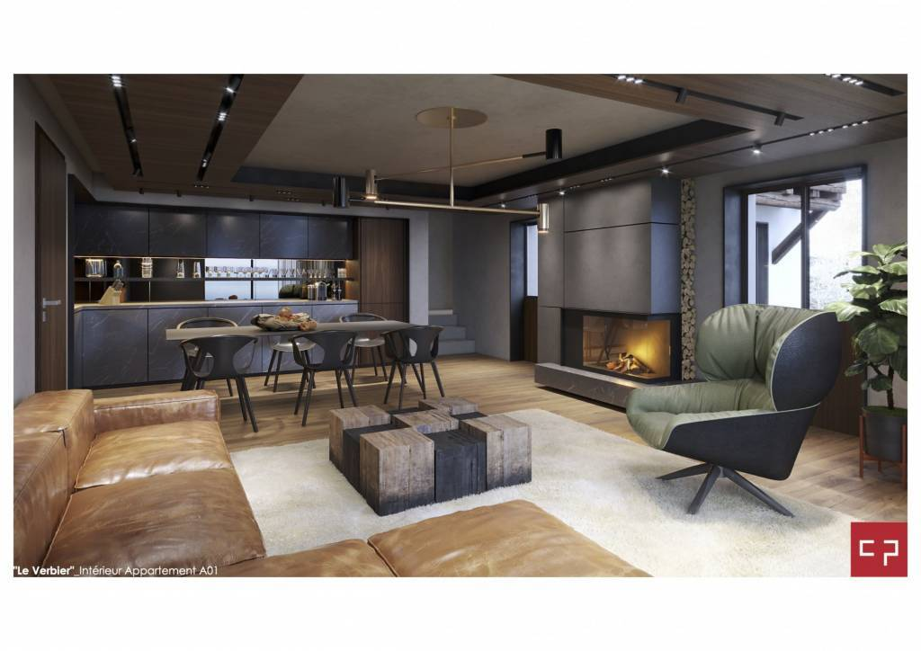 Chalet Style Apartment Living