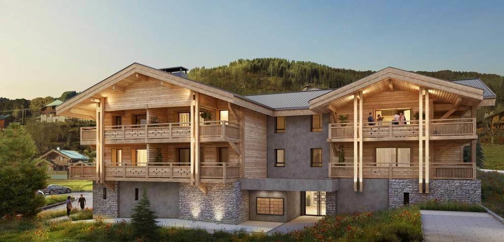 NEW CHALETS IN THE HEART OF THE GETS