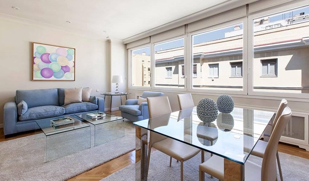 Bright furnished flat on the Barrio de Salamanca