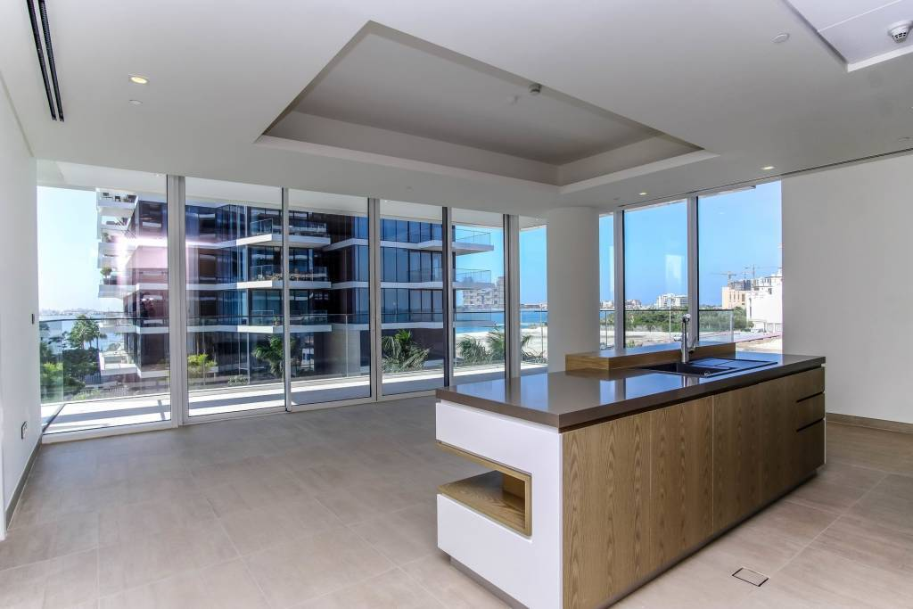 Spacious and Bright 1 BR Apartment with Prime Palm View