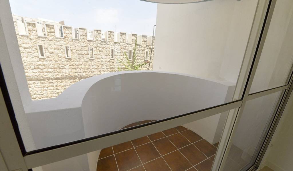Spacious Furnished Flat in a compound ,balcony