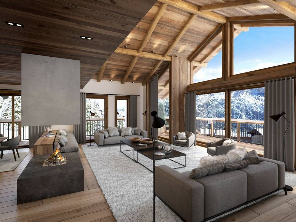 MODERN CHALET IN THE HEART OF THE VILLAGE