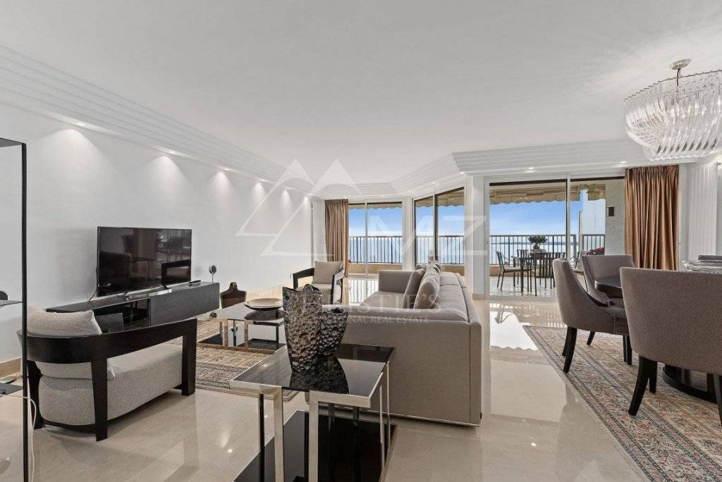 FOR SALE -CANNES - CALIFORNIE - REFURBISHED APARTMENT ON A HIGH FLOOR