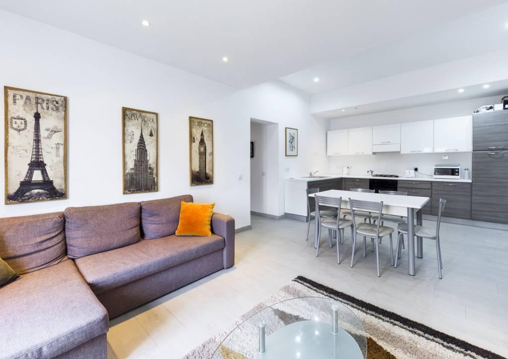 Modern Three-Bedroom Apartment in Sliema
