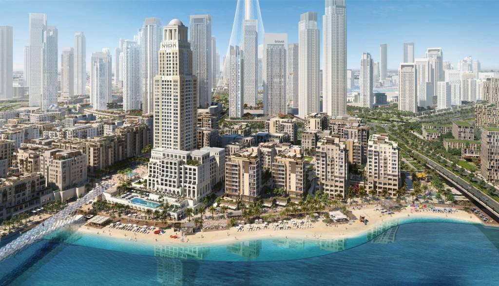 WATERFRONT LUXURY VIDA RESIDENCES IN DUBAI CREEK